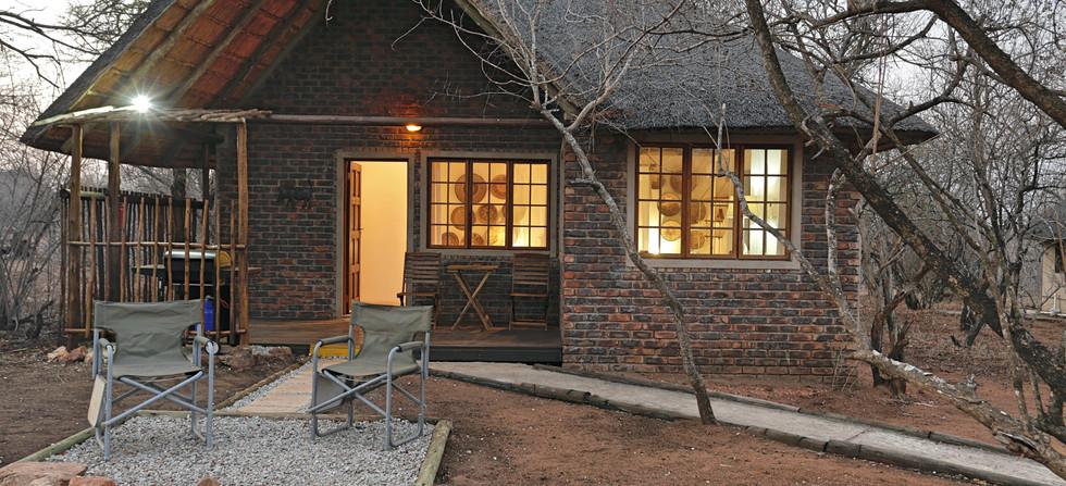 Tusk Bush Lodge Bungalow 2 & 3 Exterior.