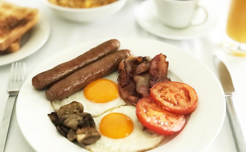 Tusk Bush Lodge breakfast