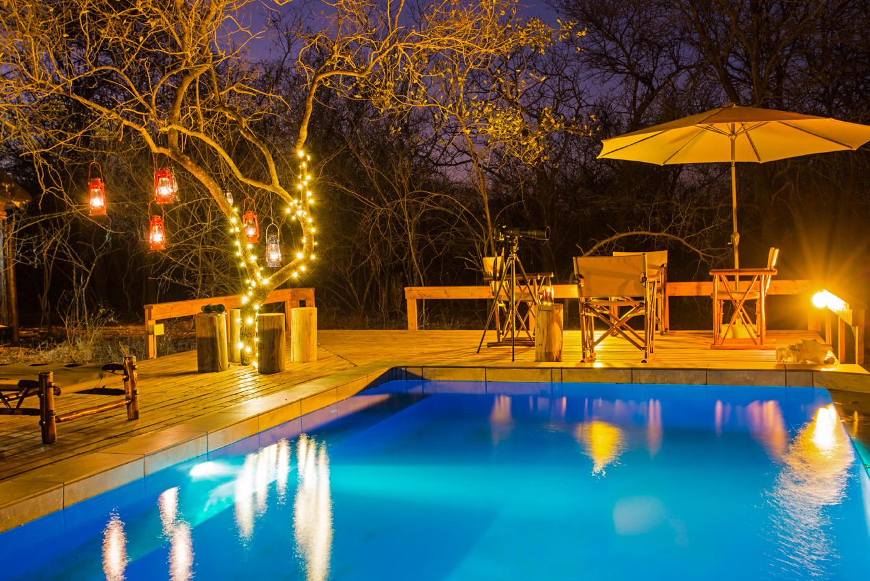 Tusk Bush Lodge Pool Deck