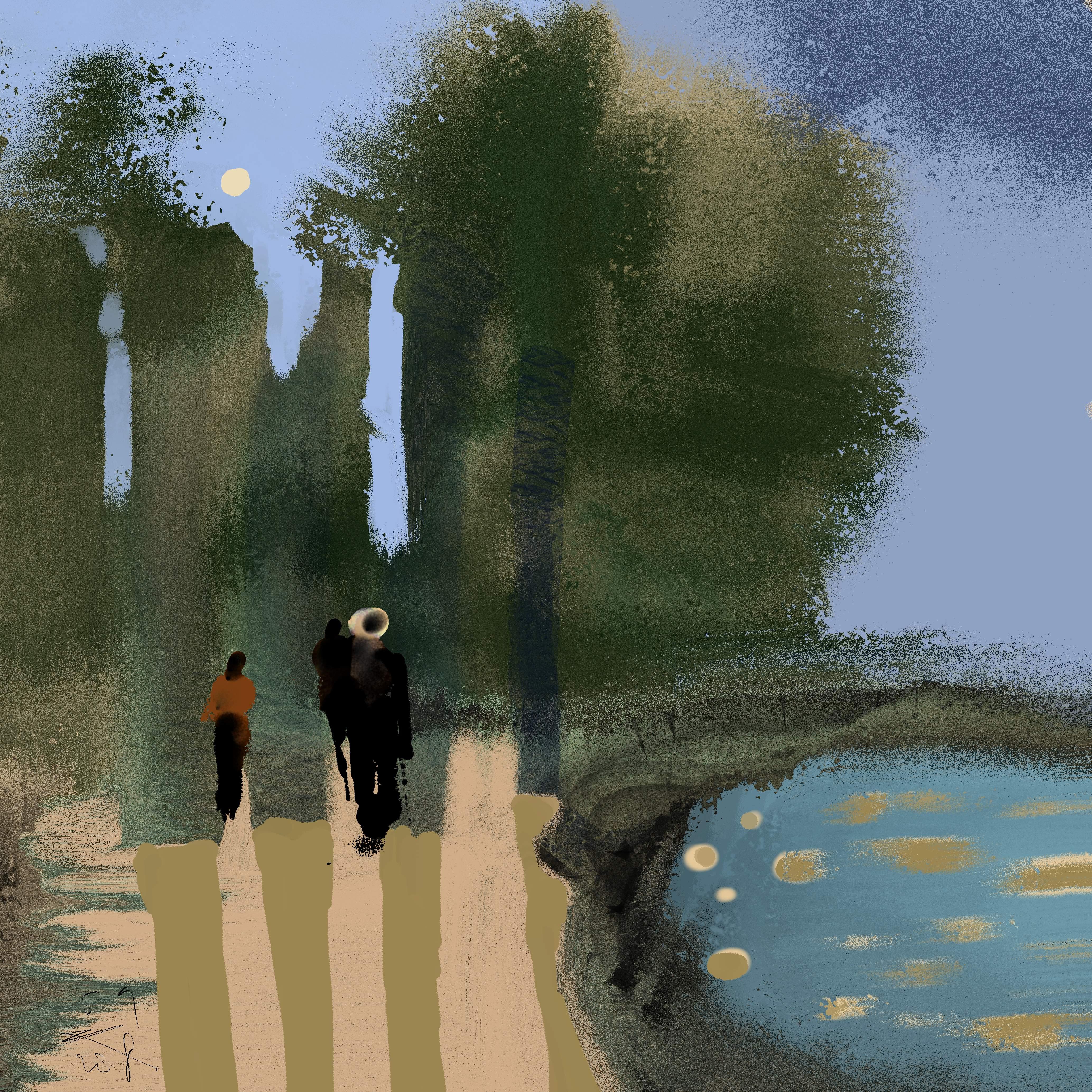 Verwaarloosd Stadspark