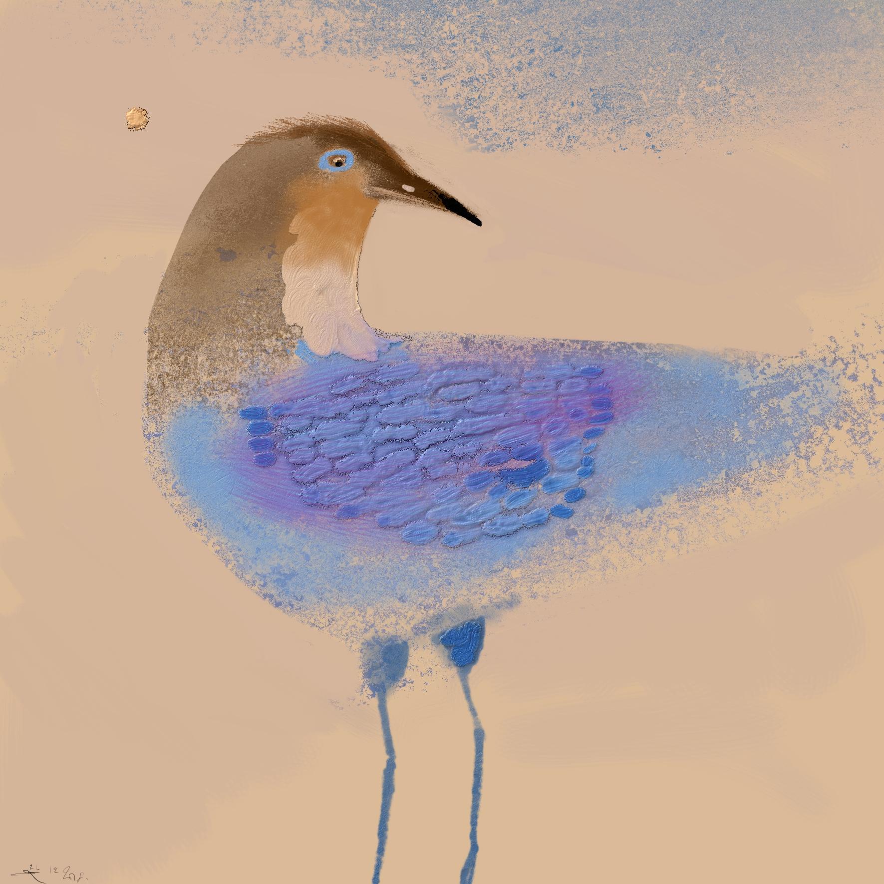 Versteende Ijsvogel