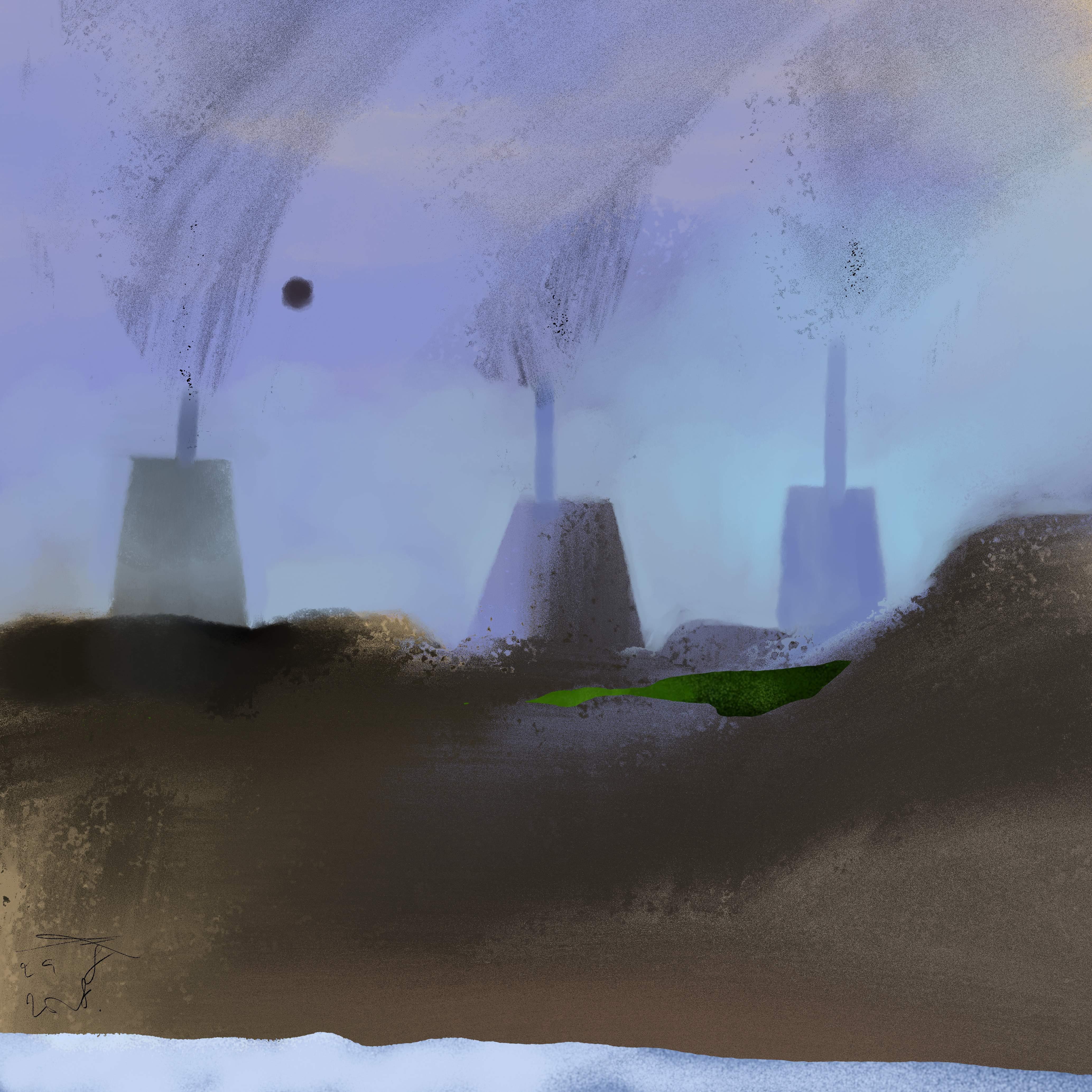 Vervuilde Maan