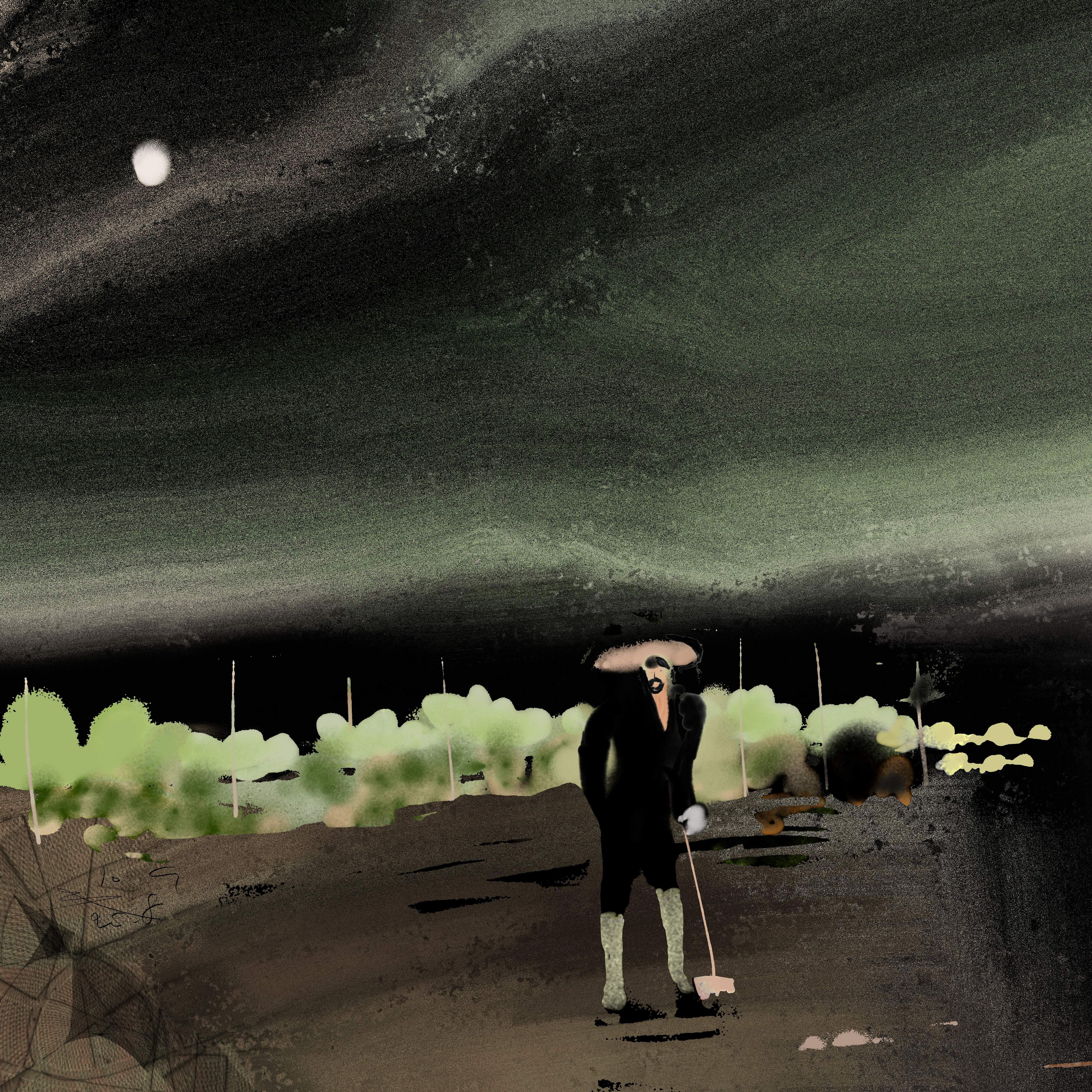 Nachtelijke Volkstuinier