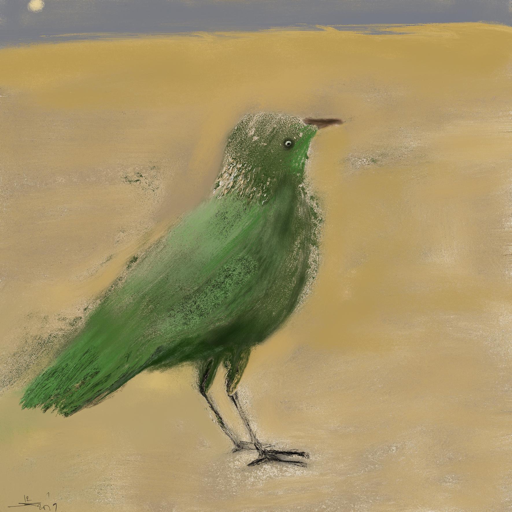 Groene Juttermus