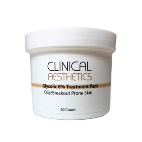 C.A. Glycolic 8% pads 60 count