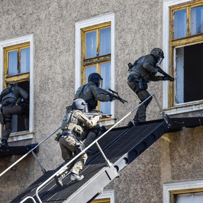 Austria Einsatzkommando COBRA unit deploy MARS ETS during National Anti-Terrorism Exercise