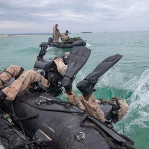 USMC 3rd Recon Jetboots Training