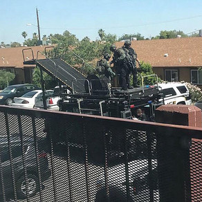 Glendale Police (AZ) deploy Liberator ETS during barricade situation