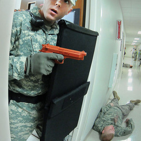 Minuteman Shields used during Active Shooter Exercise at Fort Lee, VA