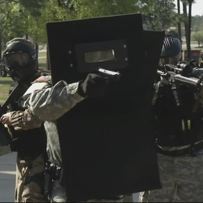 Minuteman Ballistic Shields deployed during Active Shooter scenario at Fort Gordon, GA