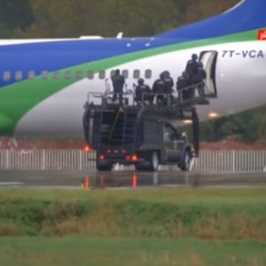 Algerian National Police GOSP use MARS ETS during 1st Anti-Hijack Drill at Bejaia Airport