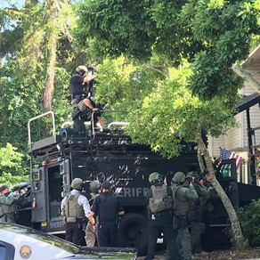 Okaloosa County Sheriff SWAT's Liberator Elevated Tactics System used to bring shootout to an end!