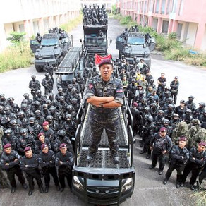 Malaysia's premier counter terrorism team, Unit Tindakan Khas (UTK), highlight their Liberator ETS