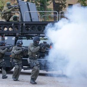 Austria Counter Terror Unit deploys MARS RDD Elevated Tactics System during anti-terror exercise