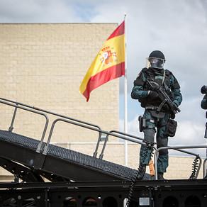 Spain's Guardia Civil shows MARS capabilities to King Felipe VI of Spain