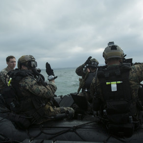 Recon Marines Test Patriot3 Jetboots Diver Propulsion Systems!
