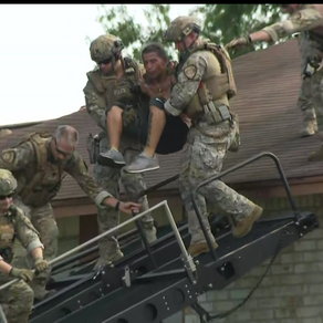 Houston Police SWAT use MARS Elevated Tactics System to bring standoff to an end!