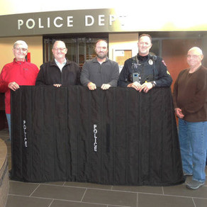 McCook Police receive (2) Flex Field Ballistic Blankets through local fundraising efforts