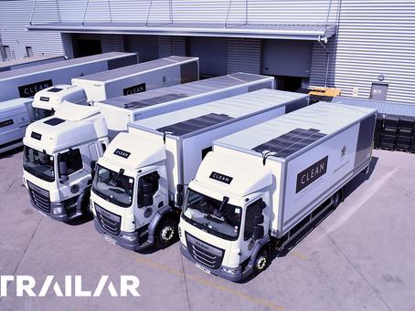 CLEAN fleet go standard spec with TRAILAR!