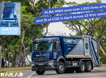 ALBA Group secure €100m Singapore contract with TRAILAR in its fleet!