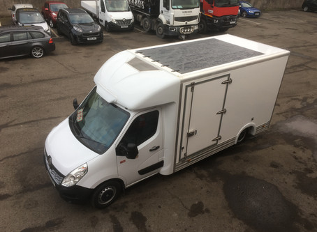 Truckcraft Bodies & TRAILAR collaborate with low entry temperature controlled vehicle