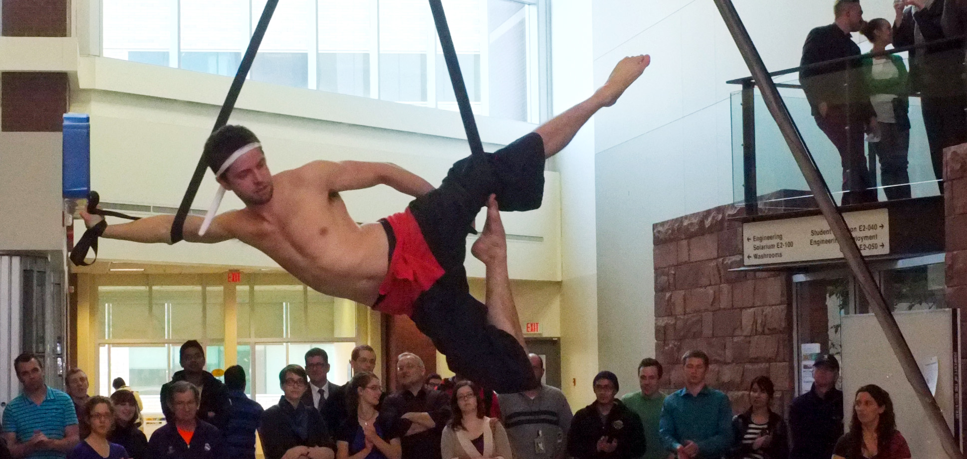 Erik - Firefly Theatre and Circus Aerial Arts Program