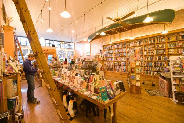 Bookstore Heaven in Durango, Colorado