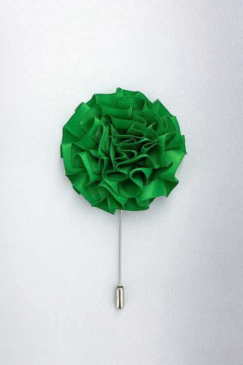 Evergreen Extended Swirl Lapel Pin