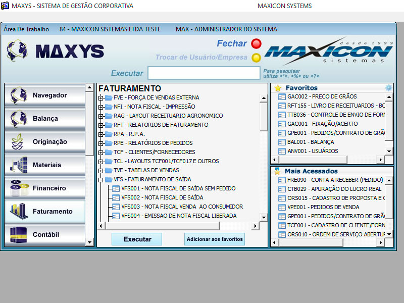 Maxys ERP