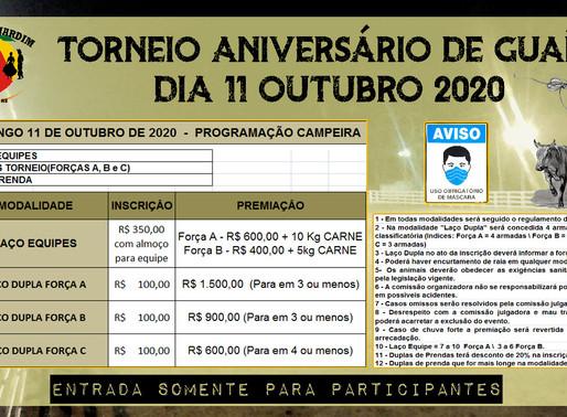 CTG Gomes Jardim realiza torneio de aniversário