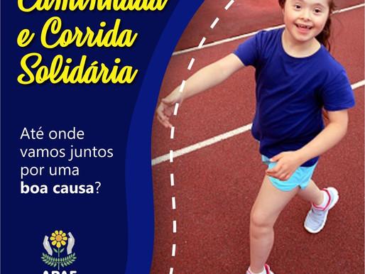 APAE  promove  Corrida e Caminhada Solidária