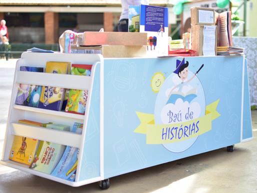 Projeto de incentivo à leitura doa brinquedoteca em Guaíba