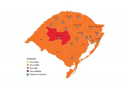 Região registra 91 óbitos.  Guaíba chega a 50 mortes