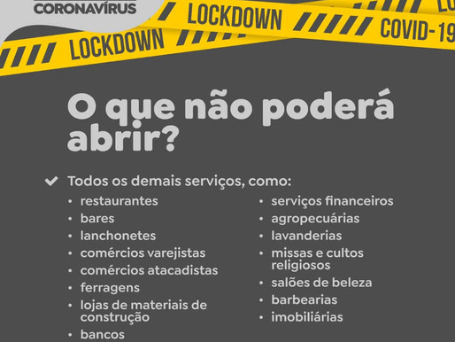 Maranata decreta lockdown em Guaíba