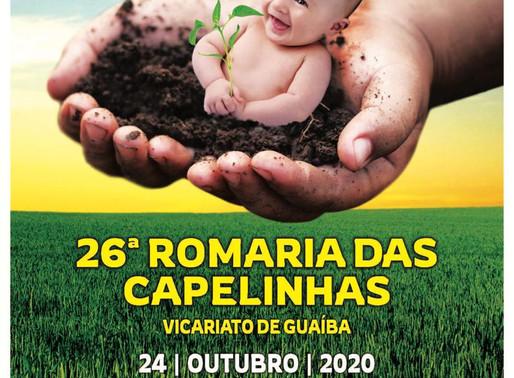 Romaria  das Capelinhas terá novo formato neste ano