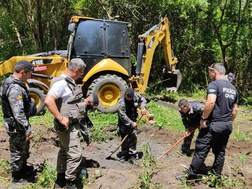 Polícia encontra ossada humana no bairro Moradas da Colina