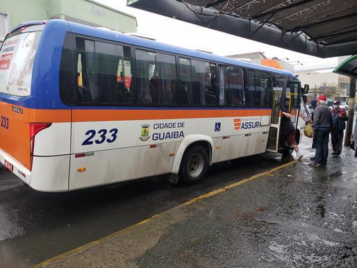 Domingo de passe livre nos ônibus de Guaíba