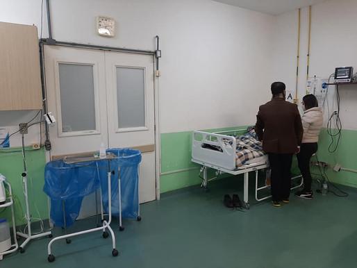 Prefeitura transfere gabinete para dentro do hospital Nelson Cornetet