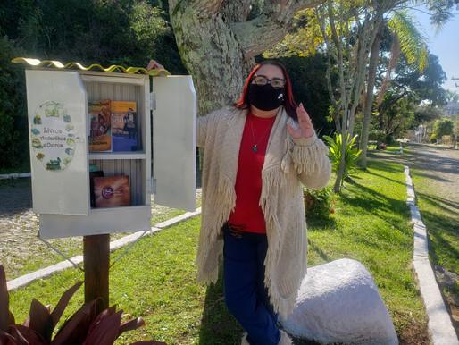 Fazendo a sua parte: Professora inova na pandemia