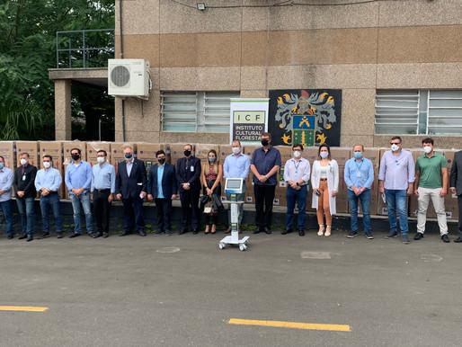 CMPC doa 20 respiradores a hospitais gaúchos