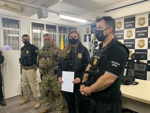 PRF e Polícia Civil realizam operação de combate ao tráfico