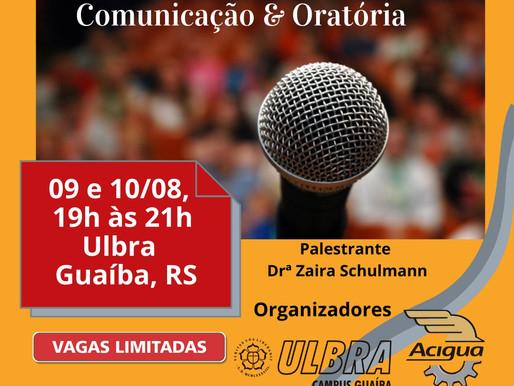 Acigua promove curso de Comunicação & Oratória