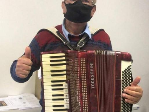 Alemãozinho  da Acordeona recupera gaita depois de cinco anos