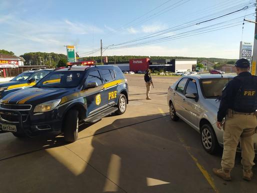 Foragido é preso pela terceira vez com carro roubado em Guaíba