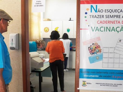 Vacina  contra a gripe crianças, gestantes e trabalhares em saúde e povos indígenas