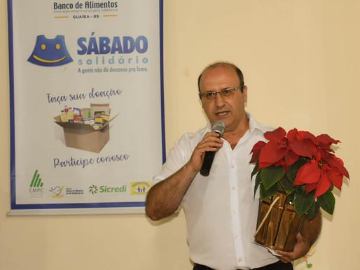 Morre presidente do Banco de Alimentos de Guaíba