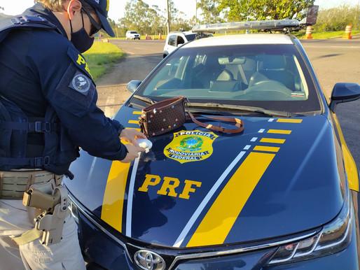 PRF prende mulher por tráfico de drogas em Eldorado do Sul