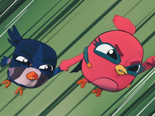 Com criação artística gaúcha, série inédita 'Angry Birds Bubble Trouble' estreia no YouTube