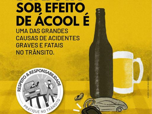 O Movimento Maio Amarelo reflete a alcoolemia
