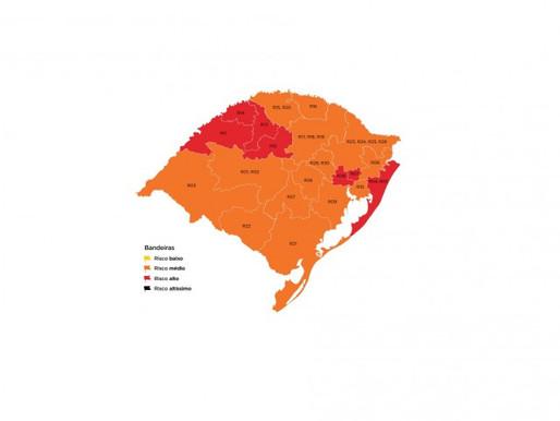 Guaíba segue na bandeira laranja